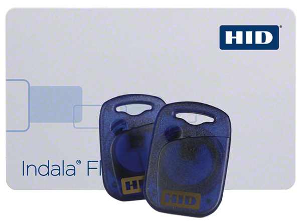 HID Indala RFID Chipkarte Transponderkarte mit Key Fobs