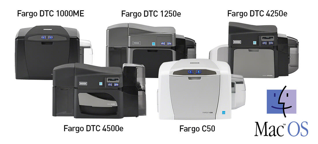 Mac-OS-Card Printer by HID Global Fargo